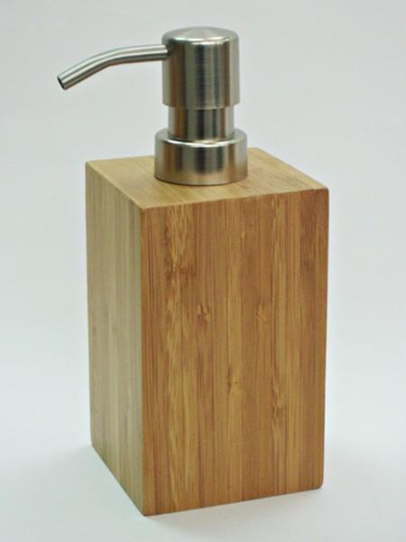 中碳竹方型不鏽鋼蓋乳液罐
