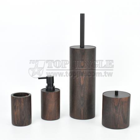 Manchurian Ash Bathroom Accessories Set