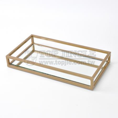 Square Wire Design Storage Tray