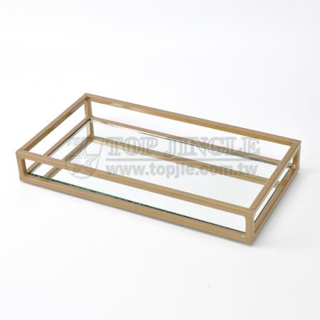 Square Wire Design Storage Tray