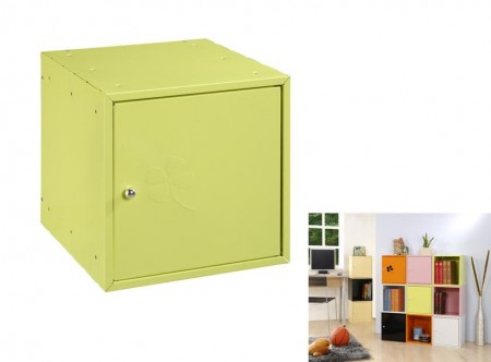 Green Square Storage Box