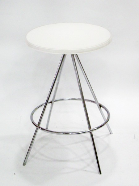 Four Metal Legged Stool
