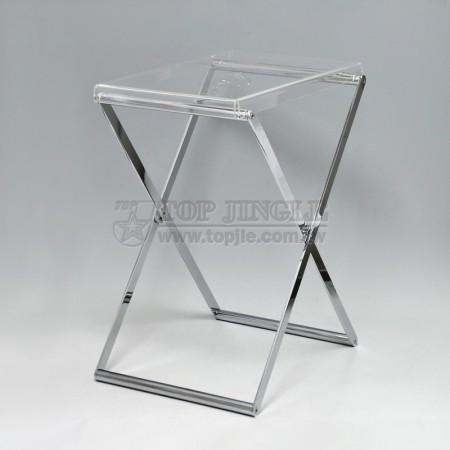 Журнальный столик в форме X