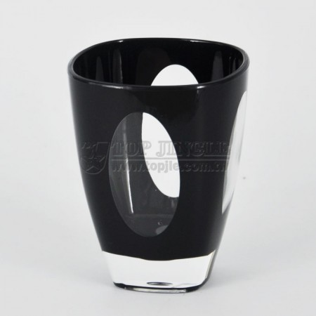 Black Acrylic Water Cup