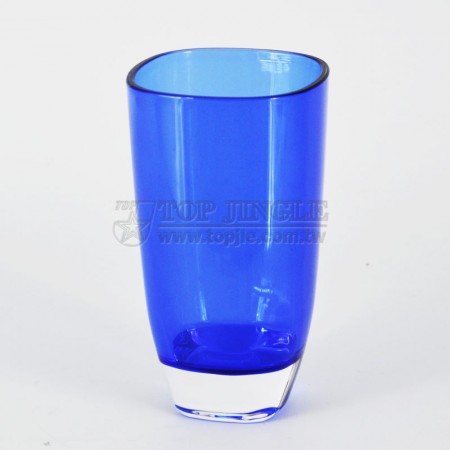 Blue Acrylic Water Cup