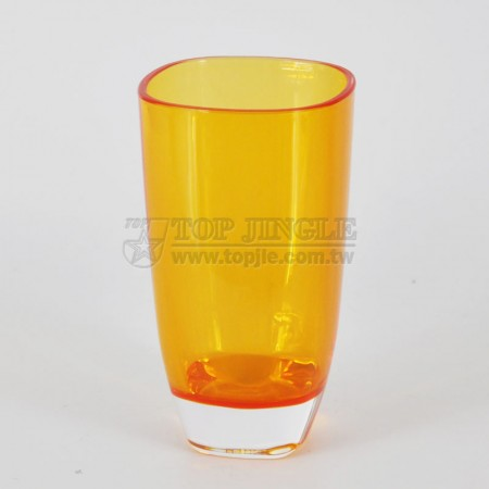 Orange Acrylic Water Cup
