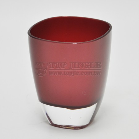 Red Acrylic Water Cup