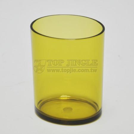 Yarı Saydam Yeşil Su Bardağı