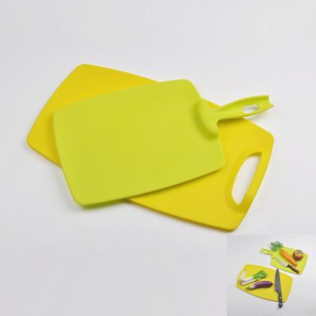 Plastic Cutting Board Set