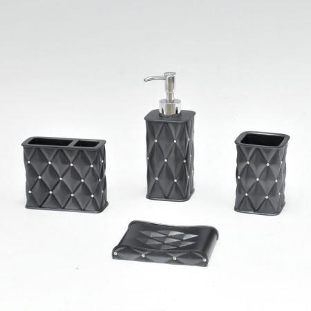 Polyresin Bathoom Accessories Set
