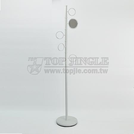 Round Shape Rotating Coat Rack