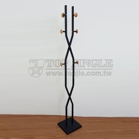 8-образный дизайн с 6 крючками вешалка для одежды