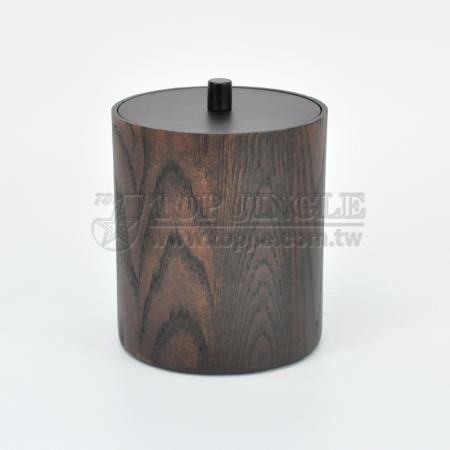 Manchurian Ash Cylinder Shape Cotton Holder