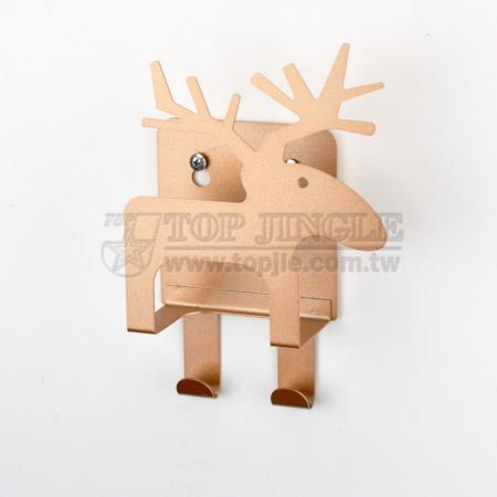 Wall Mounted Elk Envelope Holder