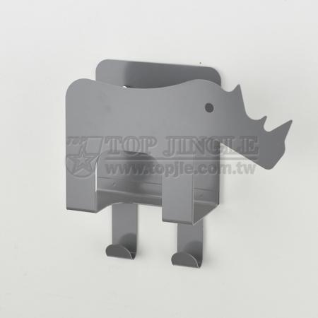 Wall Mounted Rhinoceros Envelope Holder