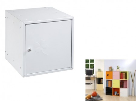 白色方形置物箱