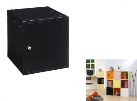 黑色方形置物箱