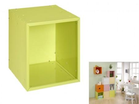 綠色方形置物箱