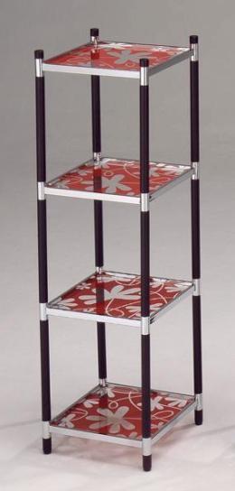 四層四方轉印玻璃架