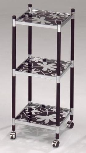 三層四方轉印玻璃架車