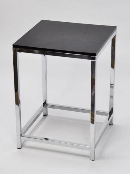 黑色方型壓克力方管單椅