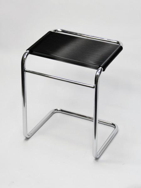 黑色ㄈ字形圓管彈力繩椅