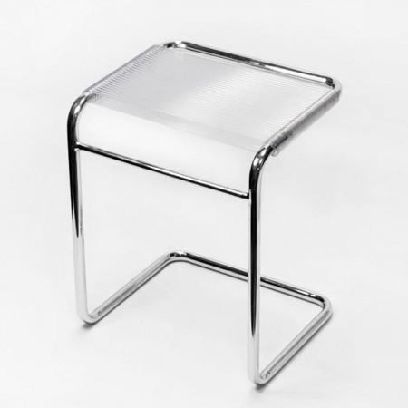 白色ㄈ字形圓管彈力繩椅