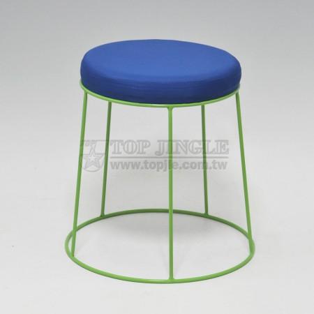 圓形彩色造型凳子