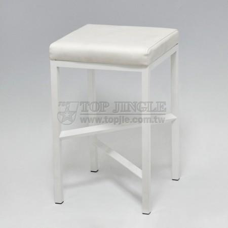 組裝方管十字造型單椅