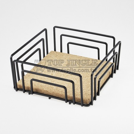 角線軟木四方造型水果盤