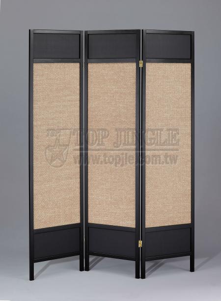 3-Panel Folding Screen
