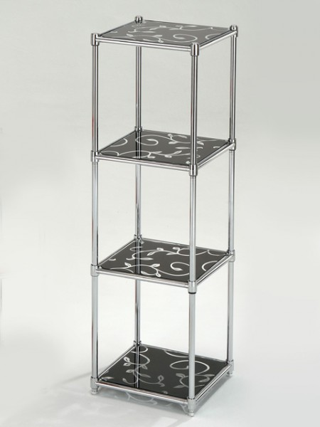 4 Tier Glass Shelf