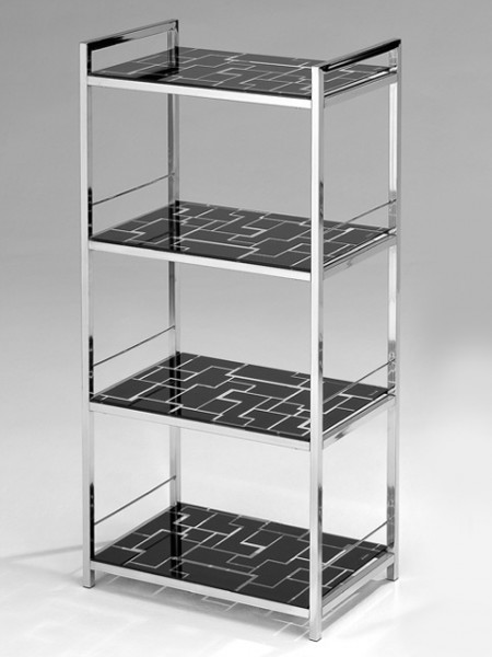 Rectangle Tiered glass shelf