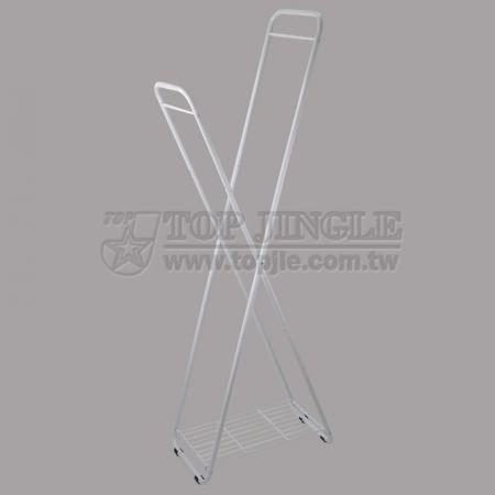 Складная подставка для одежды в форме X