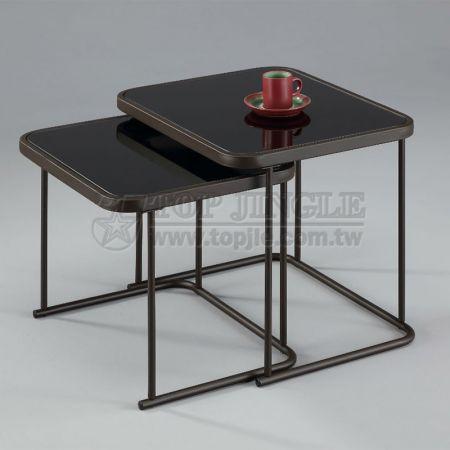 2 шт. / Компл. Стеклянный стол