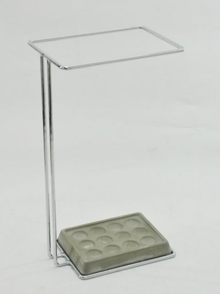 鐵線長方形水泥複合式底座雨傘架