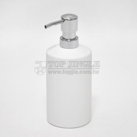 白色圓柱型乳液罐