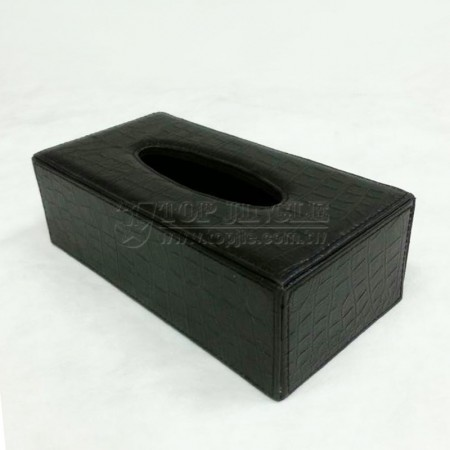 鱷魚紋長方紙巾盒
