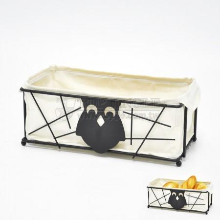 貓頭鷹系列長方型麵包籃架