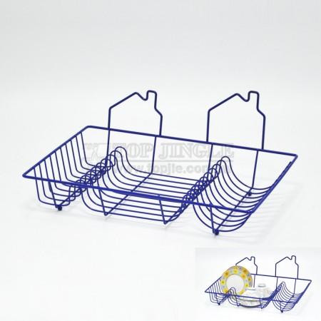 鐵線房屋造型滴水盤架