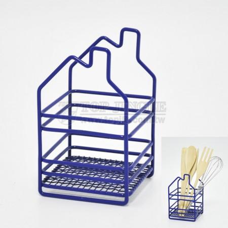 鐵線房屋造型刀叉架