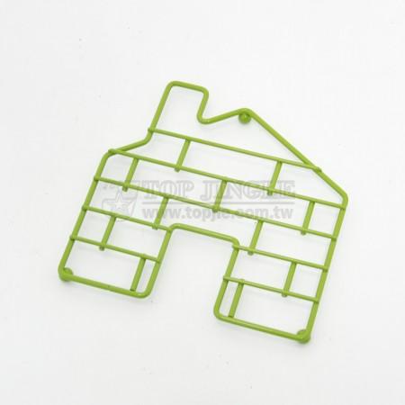鐵線房屋造型隔熱墊