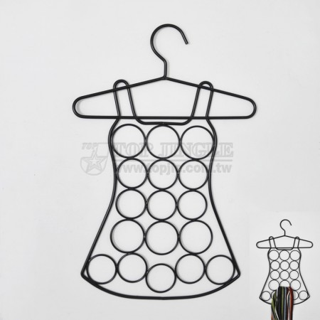 洋裝造型鐵線圍巾架