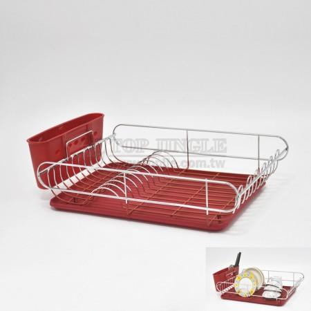 鐵線碗盤架