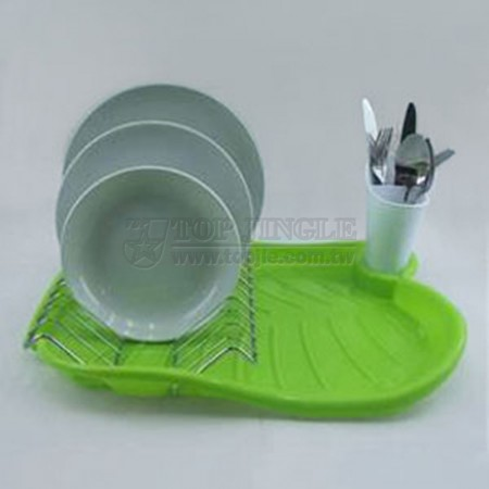 馬蹄蓮碗盤,刀叉架