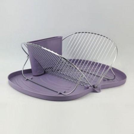 蝴蝶造型叉滴水盤架