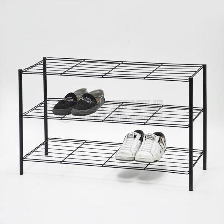 鐵線三層鞋架