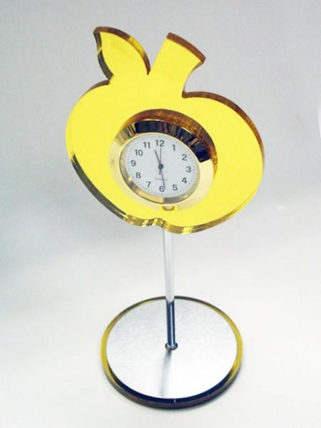 蘋果造型桌上小時鐘
