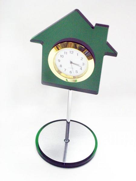 房屋造型桌上小時鐘