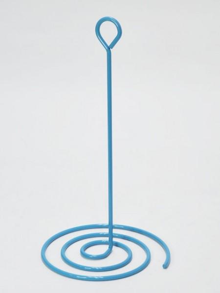 淺藍色蚊香造型紙巾架